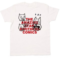 THE AMAZING STAN BROTHERS COMICS / BLACK RED :