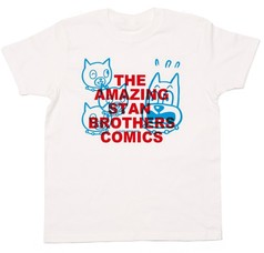 THE AMAZING STAN BROTHERS COMICS / BLUE RED :